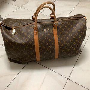 Authenic Vintage Louis Vuitton Man's Travel Duffle
